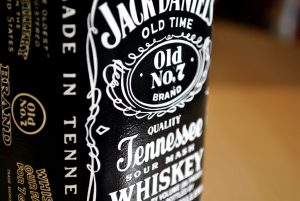 jack daniels bottle label